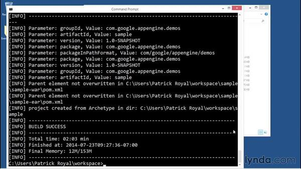 Creating a project: Using Java to Program Google App Engine