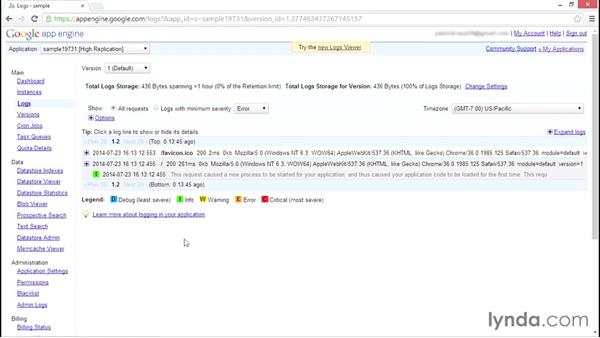 Testing and debugging: Using Java to Program Google App Engine