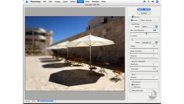 Deconstructing the Lens Blur: Enhancing Digital Photography with Photoshop CS2