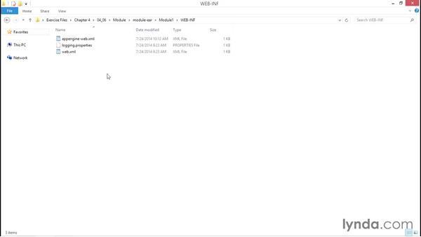 Solution: Create a simple module: Using Java to Program Google App Engine