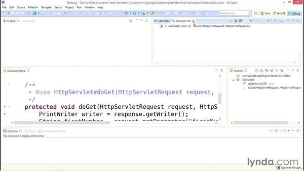 Google App Engine debugging tools: Using Java to Program Google App Engine