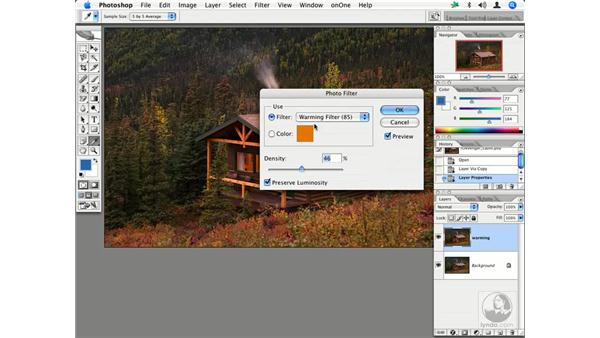 Warming filter: Enhancing Digital Photography with Photoshop CS2