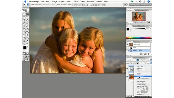 Coloring with curves, color balance and hue/saturation: Enhancing Digital Photography with Photoshop CS2