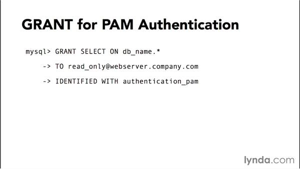 Using the Pluggable Authentication Modules (PAM): Advanced Topics in MySQL and MariaDB