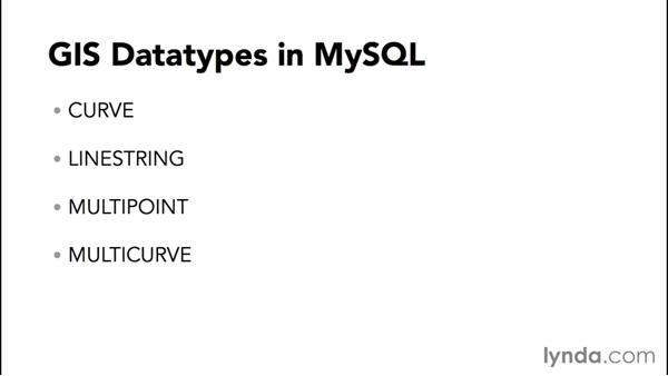 Storing geometric and geographical data: Advanced Topics in MySQL and MariaDB