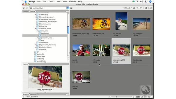 Motion Blur - spinning and zooming: Enhancing Digital Photography with Photoshop CS2