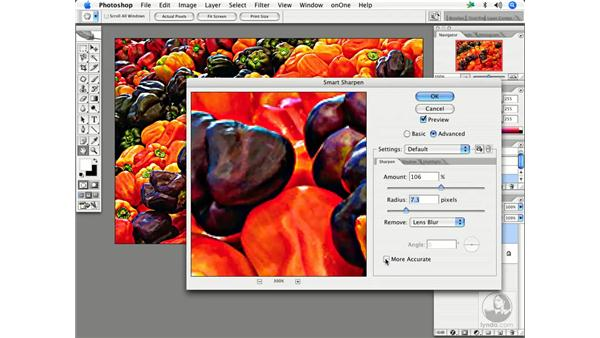 Smart Sharpen in action: Enhancing Digital Photography with Photoshop CS2