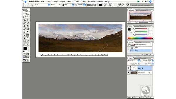 Creating promo cards 3: Enhancing Digital Photography with Photoshop CS2