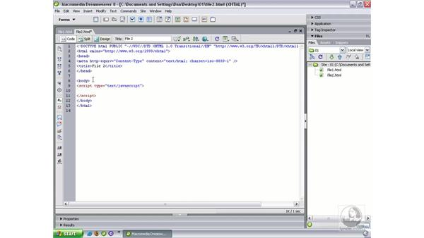 The new code toolbar: Dreamweaver 8 Beyond the Basics
