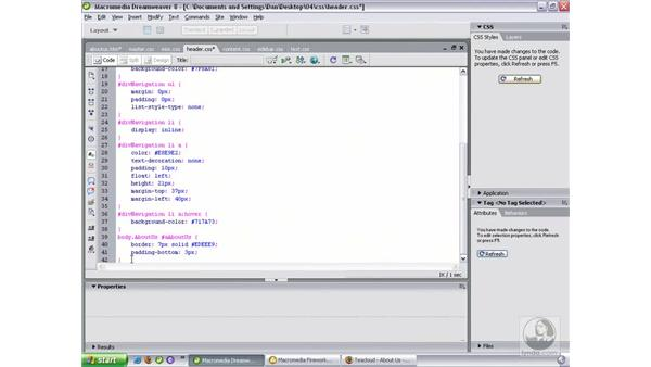 Color coding site branches: Dreamweaver 8 Beyond the Basics