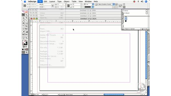 Closing multiple open documents quickly: InDesign CS2 Power Shortcuts