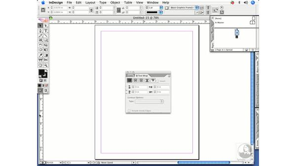 Creating and saving workspaces: InDesign CS2 Power Shortcuts