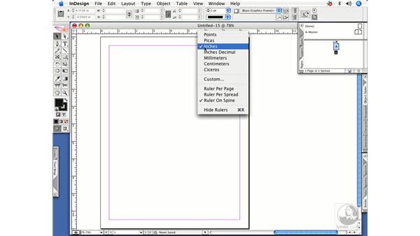 Ruler shortcuts: InDesign CS2 Power Shortcuts