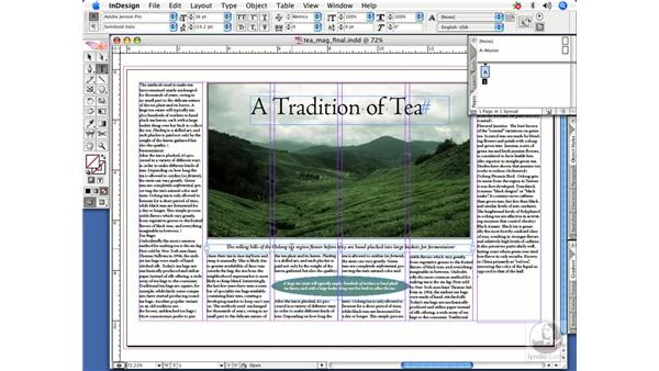 Applying formatting without selecting text: InDesign CS2 Power Shortcuts
