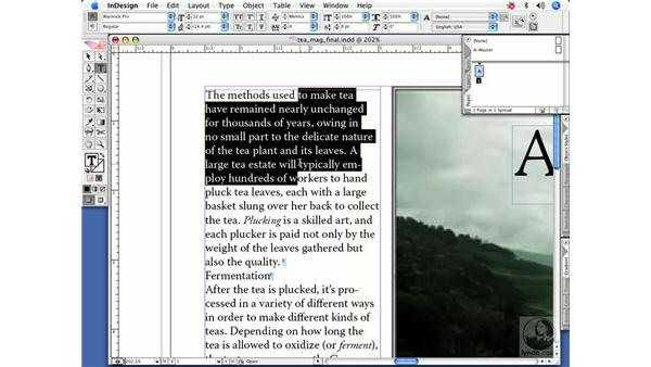 Type selection shortcuts: InDesign CS2 Power Shortcuts
