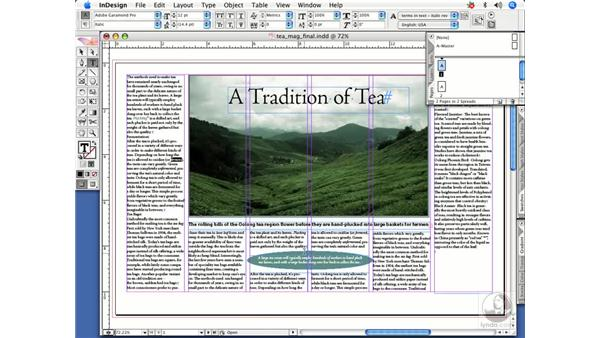 Finding fonts: InDesign CS2 Power Shortcuts
