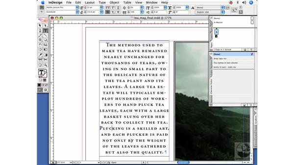Applying styles: InDesign CS2 Power Shortcuts