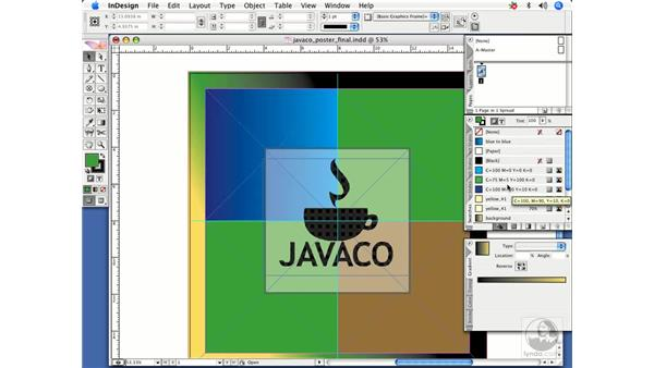 Changing the order of swatches: InDesign CS2 Power Shortcuts