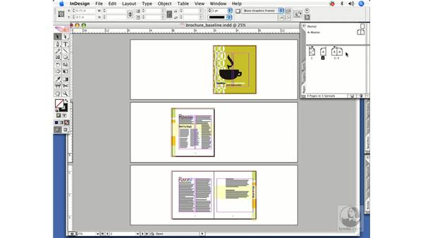 Rearranging pages: InDesign CS2 Power Shortcuts