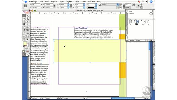 Master page items: InDesign CS2 Power Shortcuts