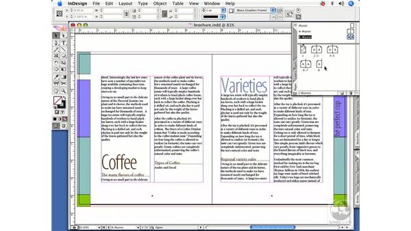 Converting a page to a master: InDesign CS2 Power Shortcuts