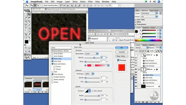 Styles in motion: neon text: After Effects 7 and Photoshop CS2 Integration