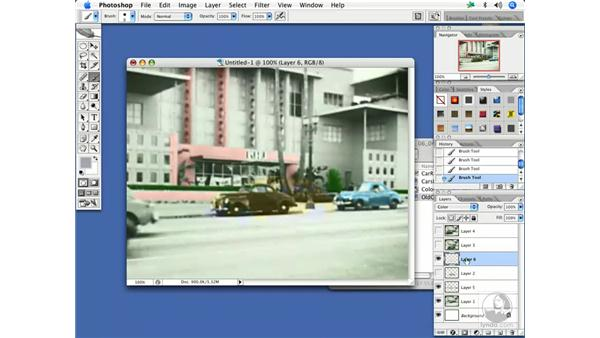 Colorizing old movies with Photoshop layers: After Effects 7 and Photoshop CS2 Integration