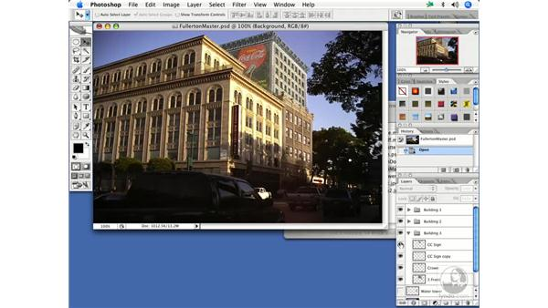 Embellishing on a location: After Effects 7 and Photoshop CS2 Integration