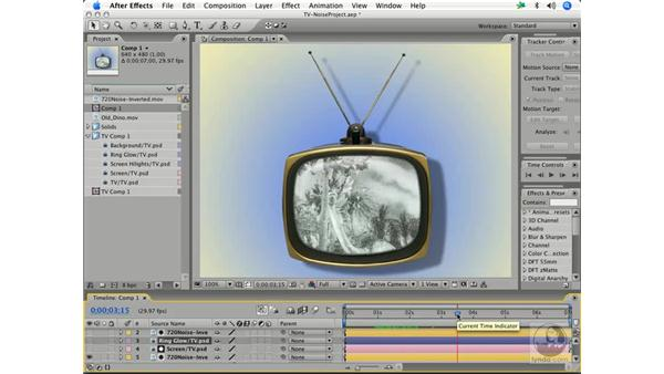 Creating TV noise and snow: After Effects 7 and Photoshop CS2 Integration