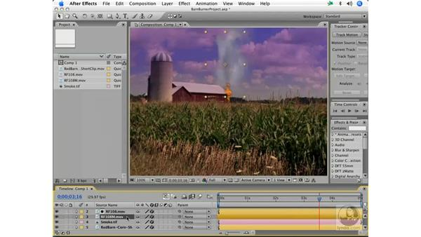 Making smoke: a real barnburner: After Effects 7 and Photoshop CS2 Integration