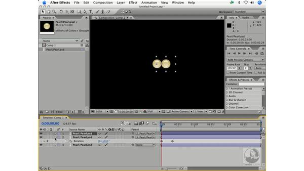 Kinematics animation and parenting: After Effects 7 Animation Techniques