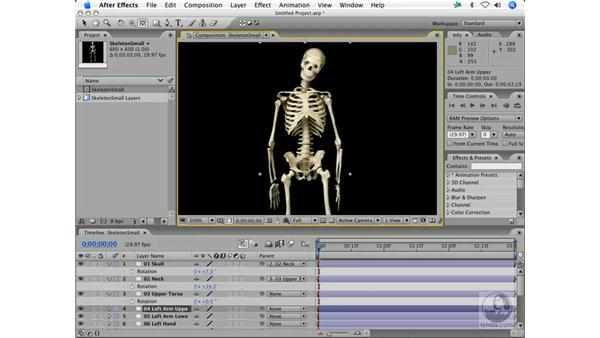 The knee bone's connected to the leg bone: After Effects 7 Animation Techniques
