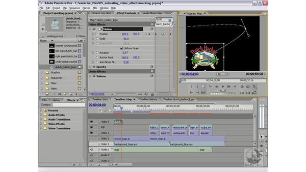 Keyframe interpolation: Premiere Pro 2 Essential Training