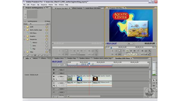 Creating scene markers: Premiere Pro 2 Essential Training