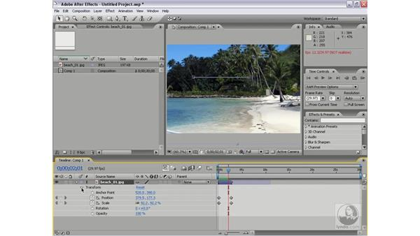 Copying and pasting between Premiere Pro 2 and After Effects 7: Premiere Pro 2 Essential Training
