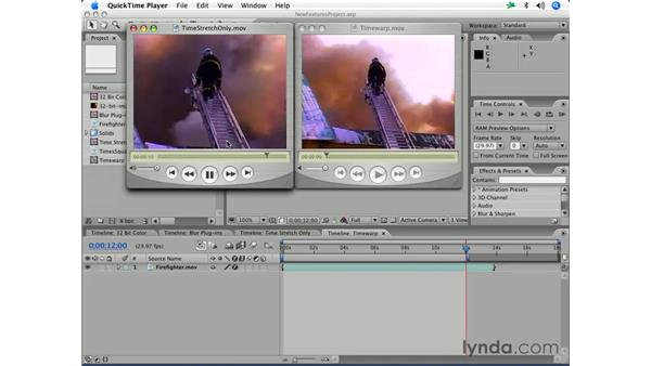 What's new in After Effects 7: After Effects 7 Essential Training