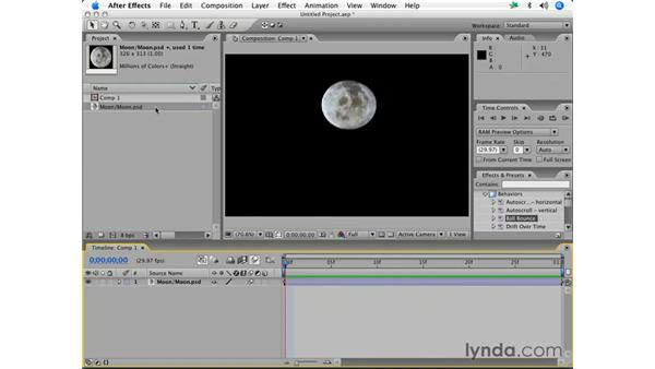 Replacing layers: After Effects 7 Essential Training