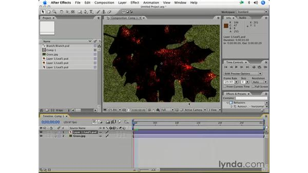 Layer modes: After Effects 7 Essential Training