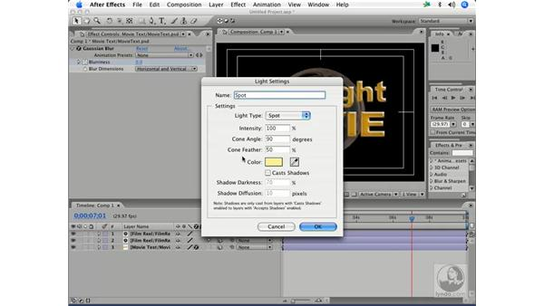 Basic 3-D layers in motion - parenting layers pt. 2: After Effects 7 and Photoshop CS2 Integration