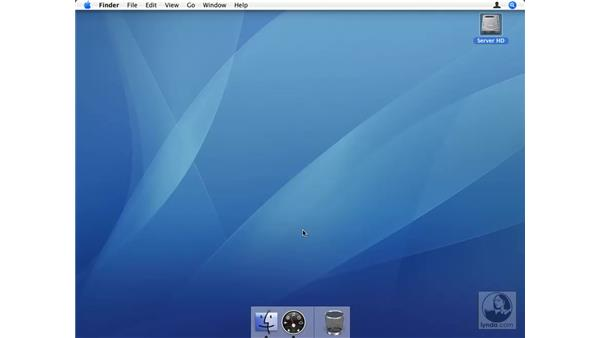 Controlling the entire process: Mac OS X Server 10.4 Tiger Essential Training