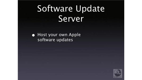 Software Update Server: Mac OS X Server 10.4 Tiger Essential Training