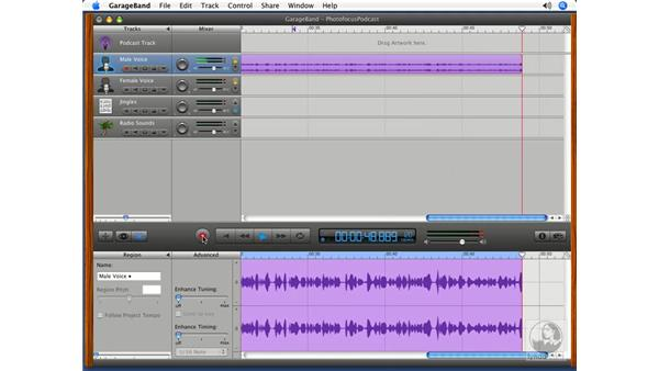 Recording vocals: Podcasting with GarageBand 3