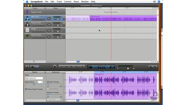 Putting it all together pt. 2: Podcasting with GarageBand 3