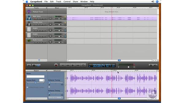 Putting it all together pt. 4: Podcasting with GarageBand 3