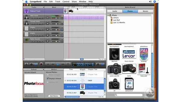 Putting it all together pt. 5: Podcasting with GarageBand 3
