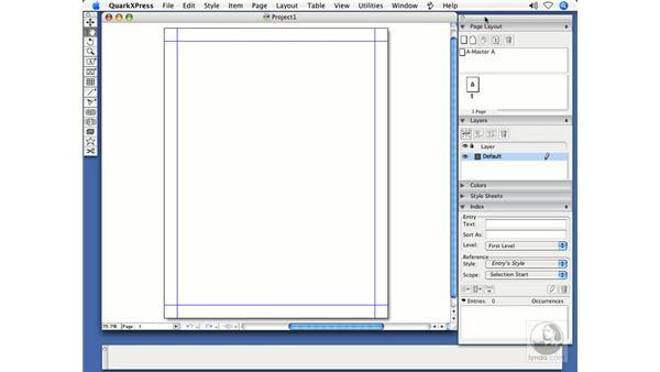 Palette management: QuarkXPress 7 New Features