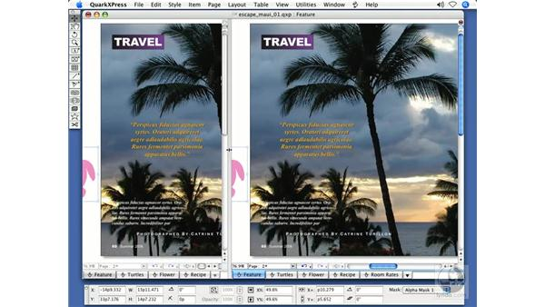 Multiple windows: QuarkXPress 7 New Features
