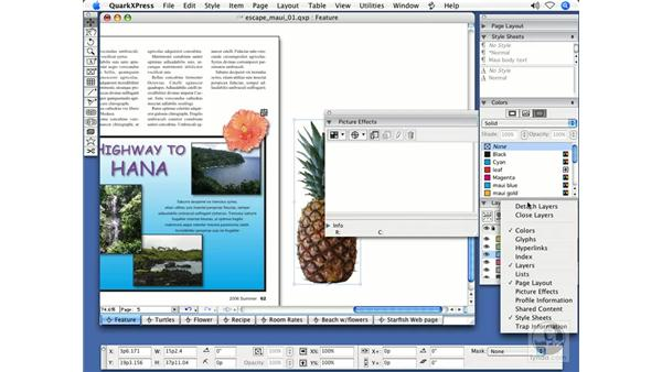 Alpha channels: QuarkXPress 7 New Features