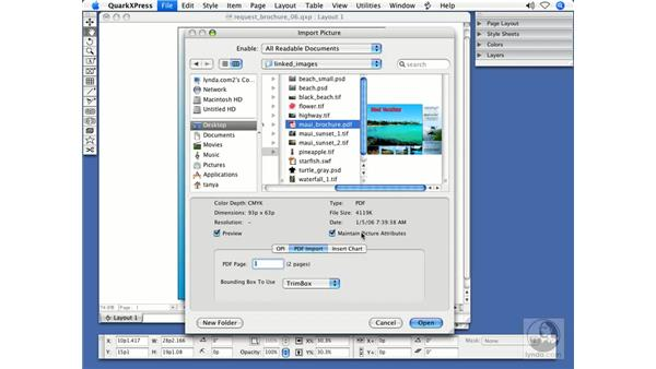 Integration with PDF: QuarkXPress 7 New Features