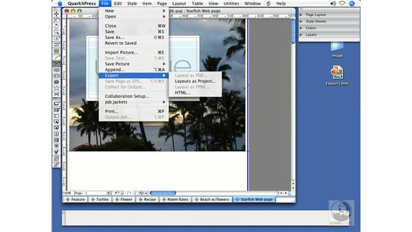 Integration with Flash: QuarkXPress 7 New Features